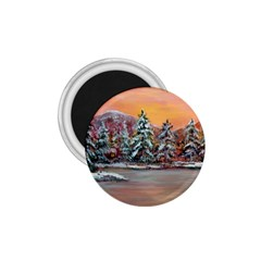 Jane s Winter Sunset   by Ave Hurley of ArtRevu ~ 1.75  Magnet