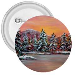 Jane s Winter Sunset   by Ave Hurley of ArtRevu ~ 3  Button
