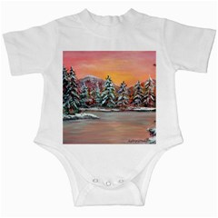 Jane s Winter Sunset   by Ave Hurley of ArtRevu ~ Infant Creeper