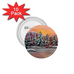 Jane s Winter Sunset   by Ave Hurley of ArtRevu ~ 1.75  Button (10 pack)
