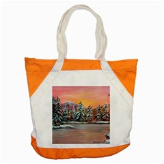 Jane s Winter Sunset   by Ave Hurley of ArtRevu ~ Accent Tote Bag