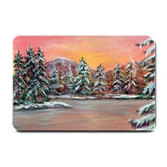 jane s Winter Sunset   By Ave Hurley Of Artrevu   Small Doormat