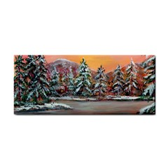 jane s Winter Sunset   By Ave Hurley Of Artrevu   Hand Towel