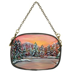 jane s Winter Sunset   By Ave Hurley Of Artrevu   Chain Purse (two Sides)