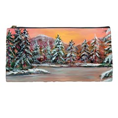 jane s Winter Sunset   By Ave Hurley Of Artrevu   Pencil Case