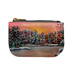 Jane s Winter Sunset   by Ave Hurley of ArtRevu ~ Mini Coin Purse