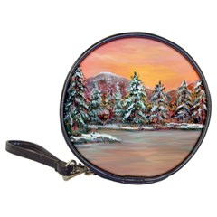 Jane s Winter Sunset   by Ave Hurley of ArtRevu ~ Classic 20-CD Wallet