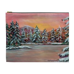 jane s Winter Sunset   By Ave Hurley Of Artrevu   Cosmetic Bag (xl)
