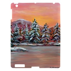 Jane s Winter Sunset   by Ave Hurley of ArtRevu ~ Apple iPad 3/4 Hardshell Case