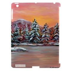 jane s Winter Sunset   By Ave Hurley Of Artrevu   Apple Ipad 3/4 Hardshell Case (compatible With Smart Cover)