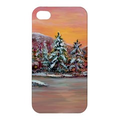 Jane s Winter Sunset   by Ave Hurley of ArtRevu ~ Apple iPhone 4/4S Premium Hardshell Case
