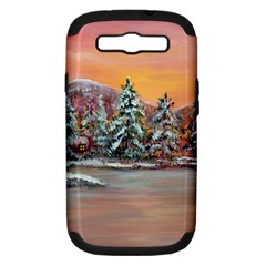 jane s Winter Sunset   By Ave Hurley Of Artrevu   Samsung Galaxy S Iii Hardshell Case (pc+silicone)