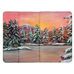 Jane s Winter Sunset   by Ave Hurley of ArtRevu ~ Kindle Fire (1st Gen) Flip Case