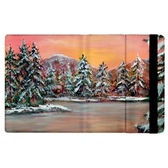 Jane s Winter Sunset   by Ave Hurley of ArtRevu ~ Apple iPad 3/4 Flip Case