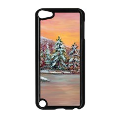 jane s Winter Sunset   By Ave Hurley Of Artrevu   Apple Ipod Touch 5 Case (black)
