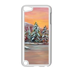 jane s Winter Sunset   By Ave Hurley Of Artrevu   Apple Ipod Touch 5 Case (white)