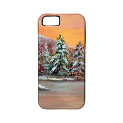 Jane s Winter Sunset   by Ave Hurley of ArtRevu ~ Apple iPhone 5 Classic Hardshell Case (PC+Silicone)