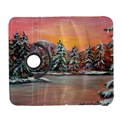 Jane s Winter Sunset   by Ave Hurley of ArtRevu ~ Samsung Galaxy S  III Flip 360 Case