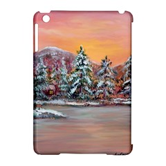 Jane s Winter Sunset   by Ave Hurley of ArtRevu ~ Apple iPad Mini Hardshell Case (Compatible with Smart Cover)