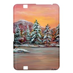 jane s Winter Sunset   By Ave Hurley Of Artrevu   Kindle Fire Hd 8 9  Hardshell Case