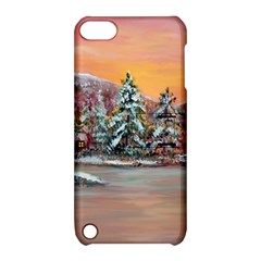 Jane s Winter Sunset   by Ave Hurley of ArtRevu ~ Apple iPod Touch 5 Hardshell Case with Stand