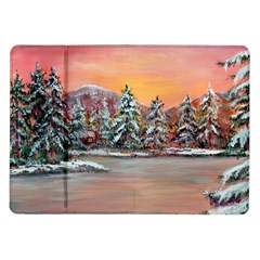 jane s Winter Sunset   By Ave Hurley Of Artrevu   Samsung Galaxy Tab 10 1  P7500 Flip Case