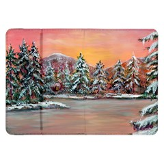 Jane s Winter Sunset   by Ave Hurley of ArtRevu ~ Samsung Galaxy Tab 8.9  P7300 Flip Case