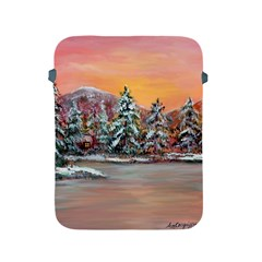 Jane s Winter Sunset   by Ave Hurley of ArtRevu ~ Apple iPad 2/3/4 Protective Soft Case