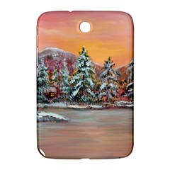 Jane s Winter Sunset   by Ave Hurley of ArtRevu ~ Samsung Galaxy Note 8.0 N5100 Hardshell Case