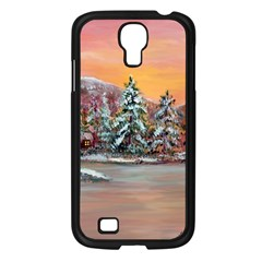 jane s Winter Sunset   By Ave Hurley Of Artrevu   Samsung Galaxy S4 I9500/ I9505 Case (black)