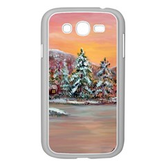 jane s Winter Sunset   By Ave Hurley Of Artrevu   Samsung Galaxy Grand Duos I9082 Case (white)