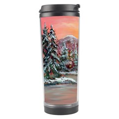 Jane s Winter Sunset   by Ave Hurley of ArtRevu ~ Travel Tumbler