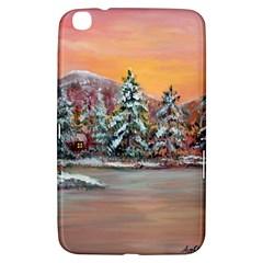 Jane s Winter Sunset   by Ave Hurley of ArtRevu ~ Samsung Galaxy Tab 3 (8 ) T3100 Hardshell Case