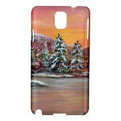 Jane s Winter Sunset   by Ave Hurley of ArtRevu ~ Samsung Galaxy Note 3 N9005 Hardshell Case