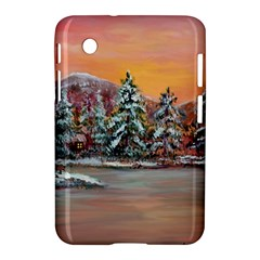 jane s Winter Sunset   By Ave Hurley Of Artrevu   Samsung Galaxy Tab 2 (7 ) P3100 Hardshell Case