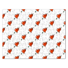 Hearts Jigsaw Puzzle (Rectangle)