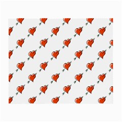 Hearts Glasses Cloth (Small, Two Sided)
