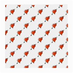 Hearts Glasses Cloth (Medium, Two Sided)