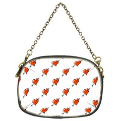Hearts Chain Purse (Two Sided)