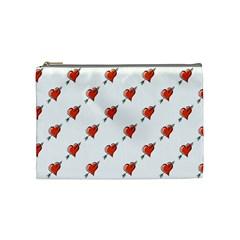 Hearts Cosmetic Bag (Medium)