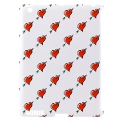 Hearts Apple iPad 3/4 Hardshell Case (Compatible with Smart Cover)