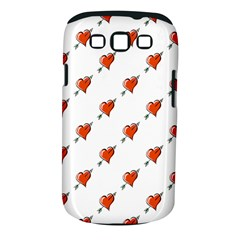 Hearts Samsung Galaxy S III Classic Hardshell Case (PC+Silicone)
