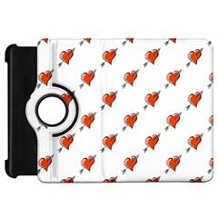 Hearts Kindle Fire HD 7  Flip 360 Case