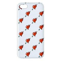 Hearts iPhone 5 Premium Hardshell Case