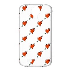 Hearts Samsung Galaxy S4 Classic Hardshell Case (PC+Silicone)