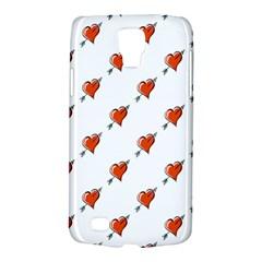 Hearts Samsung Galaxy S4 Active (I9295) Hardshell Case