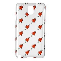 Hearts Samsung Galaxy Note 3 N9005 Hardshell Case