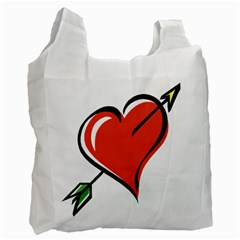 Heart Recycle Bag (One Side)