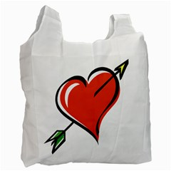 Heart Recycle Bag (Two Sides)