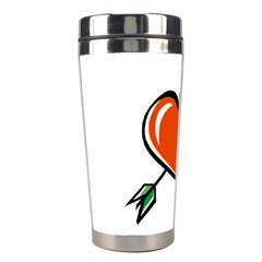 Heart Stainless Steel Travel Tumbler